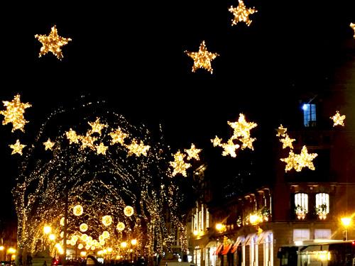 パルマクリスマスの夜景
