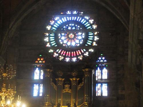 ソイエールの教会バラ窓