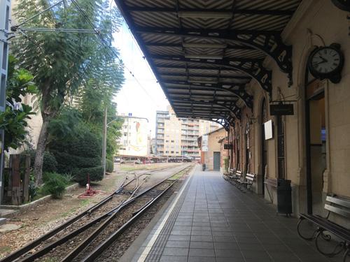 マヨルカ山岳鉄道パルマ駅