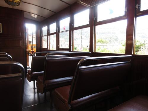 ソイェール山岳鉄道シート