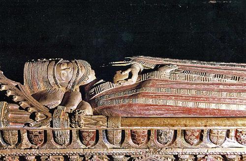 レオノール・ルイスの石棺