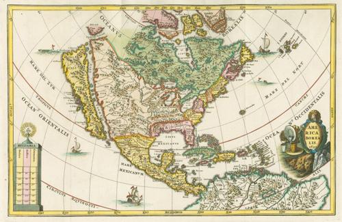 グリーンランドと北アメリカ