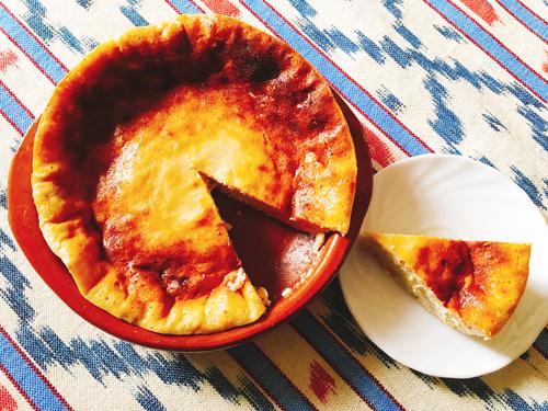 マヨルカ島のリコッタチーズケーキ